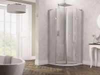 Glyn Frameless Double Hinged Quadrant (Door Only) (12567)