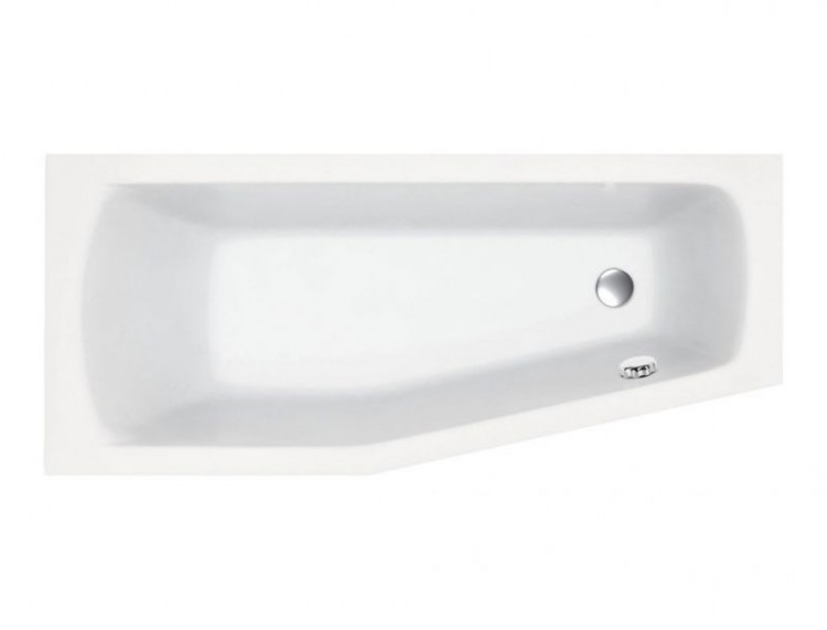 Smart Super Strong Space Saver Bath (Left Hand) (12558)
