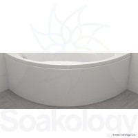 Carron Affinity Bath Panel, 1200mm - 5mm Acrylic - White (23.1831)