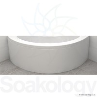 Carron Affinity Panel for Corner Bath 1300 x 540 mm - Acrylic - White (23-1841)
