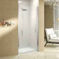 Merlyn Series 10, Pivot Door 900mm - Chrome/Clear Glass (M101221C)
