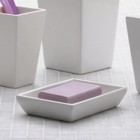 Jamila Soap Dish - white (1611-02)