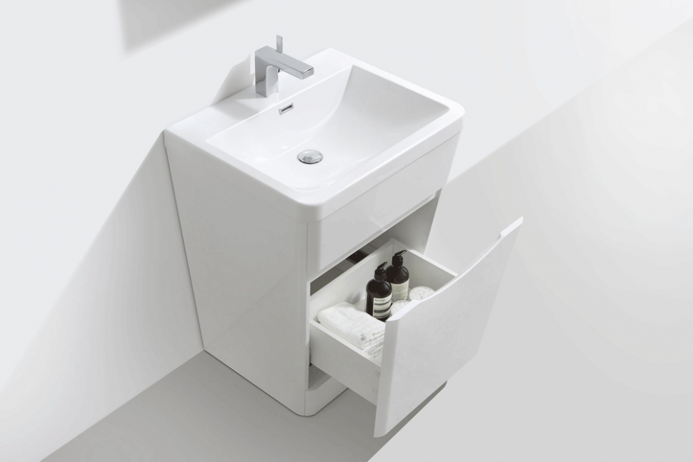 Hib reveal vanity unit tumbler and toothbrush holder