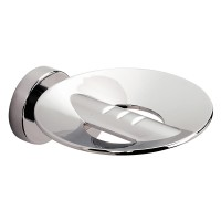 Tecno Project Metal Soap Dish with Holes - Chrome (116959)