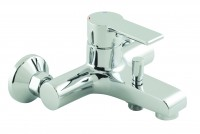 Vado Ion Exposed Bath Shower Mixer Single Lever Wall Mounted Without Shower Kit - chrome (ION-123-CP)