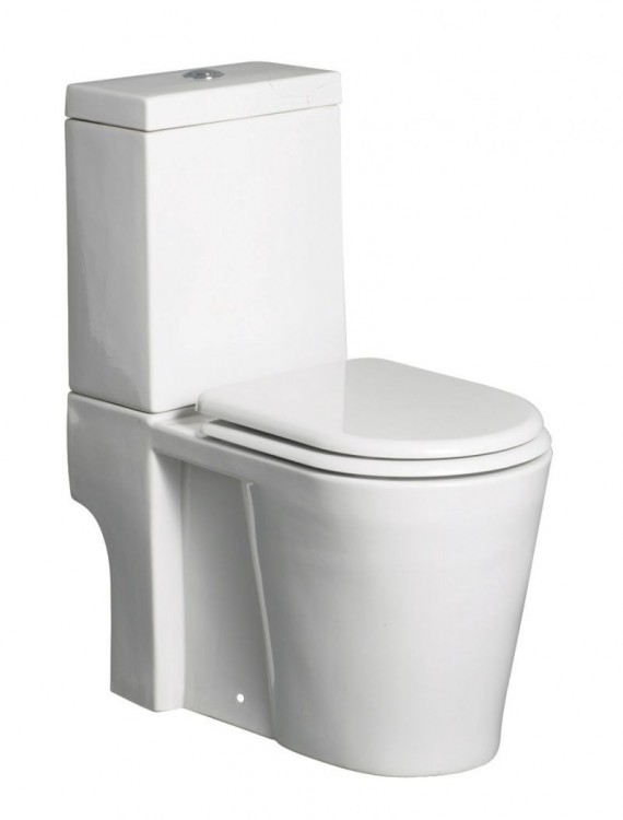 Shuttle Close Coupled Toilet (19819)