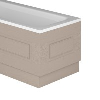 Butler Bath End Stone Grey Ash (800mm) (20079)