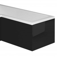 Nante Black Galaxy Bath Panel End (for L-Shaped Bath) (17042)