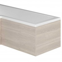 Nante Light Elm Bath Panel End (for L-Shaped Bath) (17043)