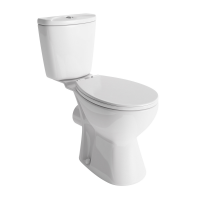 Lisbon Close Coupled Toilet (with Standard Seat) (20511)