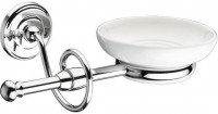 Istia Wall Mounted Soap Dish. White/Chrome (XD22140100)