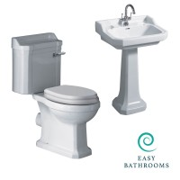 New Hampshire Toilet and Basin Suite (23627)
