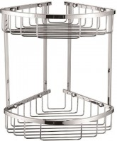Easy Double Corner Shower Basket (12893)