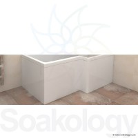 Carron Quantum Shower Bath Front Panel, 1500mm - Acrylic - White (23.3511)