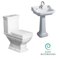 Butler Toilet and Basin Suite (23626)