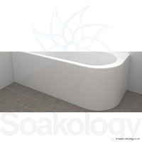 Carron Status Bath Panel 1700 x 725 x 540mm, Panels & Accessories | Carronite - White (23.1961)