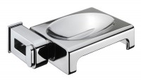Nakar Metal Soap Dish - chrome (123889)