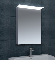 Ruby LED Single Door Wall Cabinet 500mm (17996)