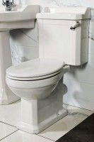 New Hampshire Traditional Toilet (with White Soft Closing Seat) (17538)