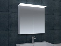 Ruby LED Double Door Wall Cabinet 600mm (17997)