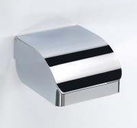 Gedy Covered Toilet Roll Holder - Chrome (2525-13)